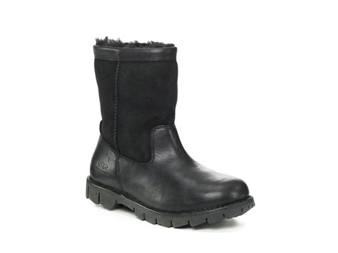 mens ugg beacon boots ugg mens beacon boots in black for after lyst