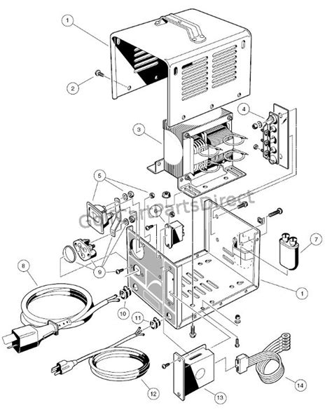 club car charger wiring diagram 36 wiring diagram