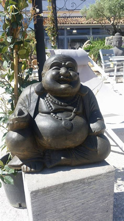 decoration jardin statue bouddha