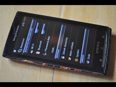 Hp Sony Ericsson Android Jelly Bean sony ericsson xperia x10 with feralab android 4 1 2 jelly