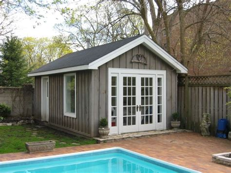 pool shed this would be nice pools pinterest pool houses