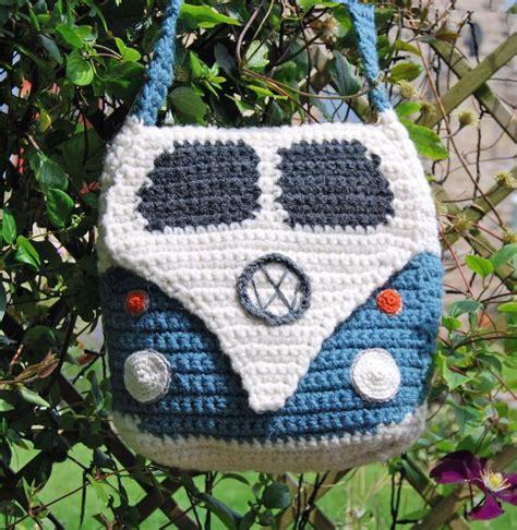 vw crochet bag pattern cervan shoulder bag crochet pattern by snuginadub craftsy