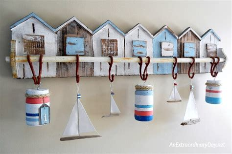 how to use nautical decor to create the perfect living room how to make fun nautical buoys with mason jars an