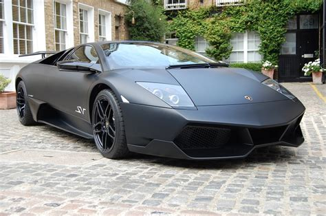 Matte Black Lamborghini Photo Of The Day Matt Black Lamborghini Lp670 Sv Gtspirit
