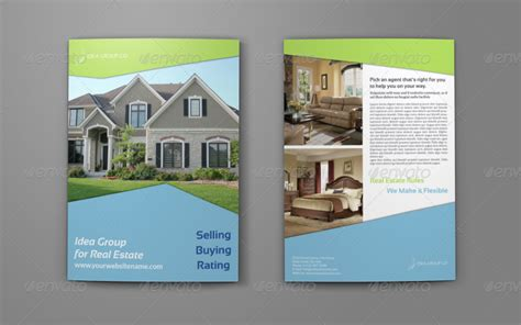 real estate company brochure bi fold template vol2 by