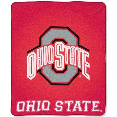 ohio state buckeyes home decor ohio state buckeyes college quot jersey quot 50 quot x 60 quot raschel throw