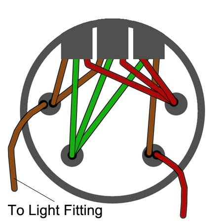 how to wire a light fitting diagram uk efcaviation