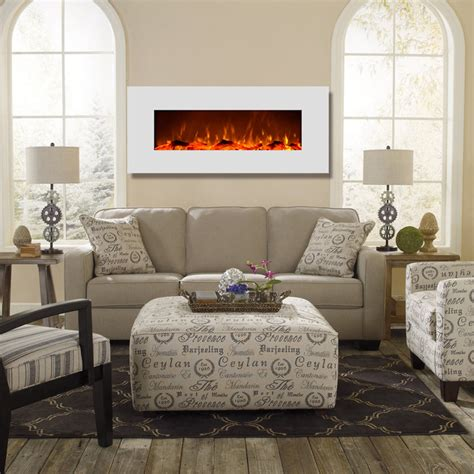 liberty 50 inch electric wall liberty 50 inch electric wall mounted fireplace white