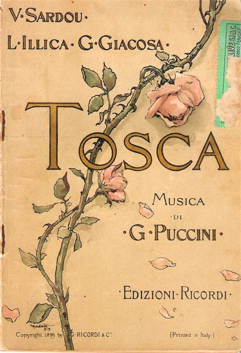 Chanelly Tosca 4 In 1 tosca opera