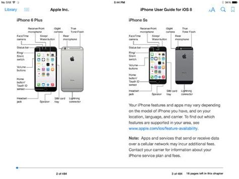 apple s official iphone and user guide for ios 8 now available on ibooks 9to5mac