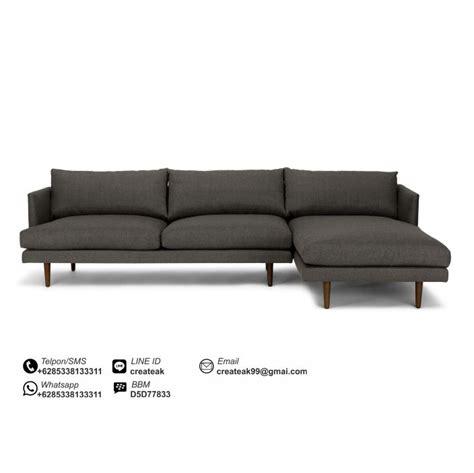 Set Sofa Bed Meja Kursi Tamu Sudut Minimalis Furniture Living Room sofa tamu minimalis venus createak furniture createak