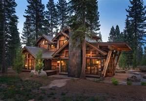 contemporary mountain cabin cozy mountain style cabin getaway in martis c california