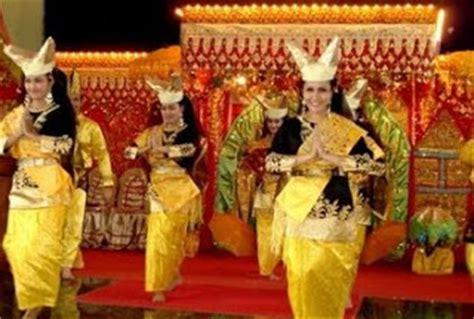 Payung Tari Brukat Hias Tradisional tarian tradisional