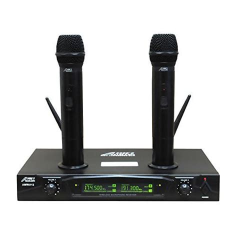 Mic Wisdom Q9 Wireless Microphone Multi Channel shure vocal combo with pg58 customer reviews prices