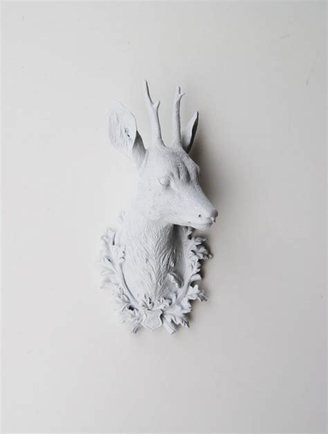 Deer Head Home Decor | faux deer head home decor