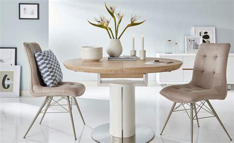 runde tisch polster für esszimmer tische stuhl justin m 246 bel h 246 ffner