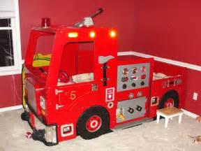 Fire Truck Bedroom Pics Photos Childrens Fire Truck Themed Bedroom