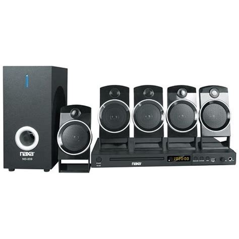 naxa 5 1 channel home theater dvd karaoke system
