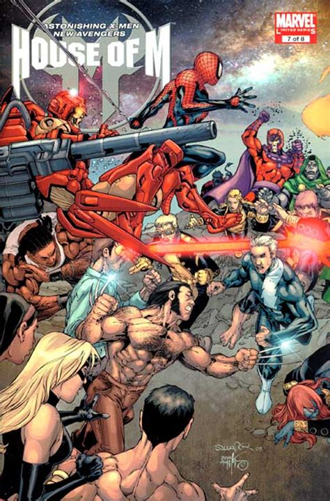 Marvel House Of M spiderfan org comics house of m