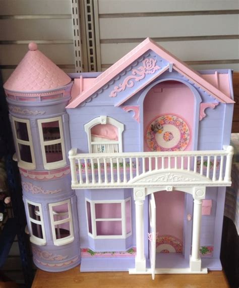 barbie doll houses with elevator barbie dream house mattel vintage victorian dollhouse w elevator bed kitchen