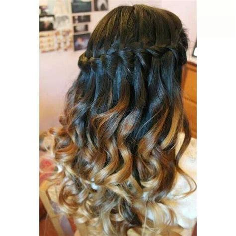 hairstyles for long hair sweet 16 sweet 16 hairstyles with braids waterfall braid sweet 16