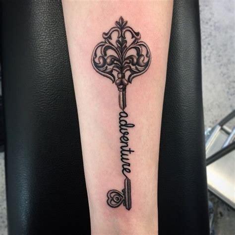 old key tattoo designs black ink key design for arm