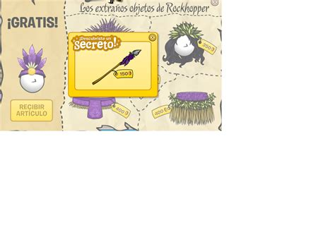 libro xats cj club penguin con wooth tii y wooth too rockhopper ancla en cp