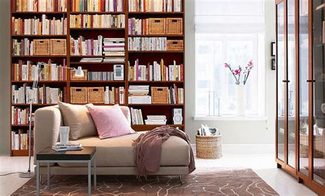 modern home library interior design book shelves for personal library decorating and design in