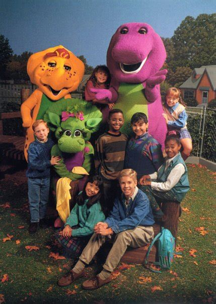barney and the backyard gang cast season 2 barney wiki
