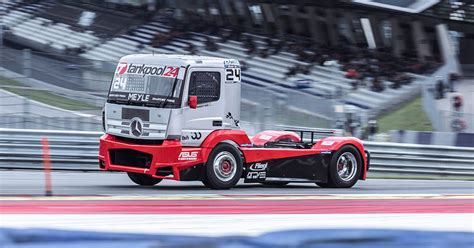 truck race start of the season european truck racing chionship