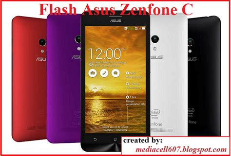 tutorial flash asus zenfone c z007 flash asus zenfone c menggunakan asus flash tool media cell