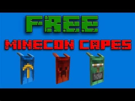 Minecon Cape Giveaway - full download minecon 2016 cape giveaway email access included