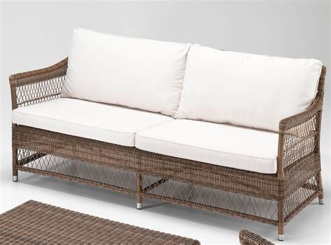 giardino rattan salotto da giardino polyrattan marrone etnicooutlet mobili