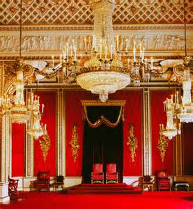 inside buckingham palace throne room search