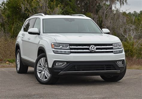 volkswagen atlas sel 2018 volkswagen atlas v6 sel premium 4motion review test