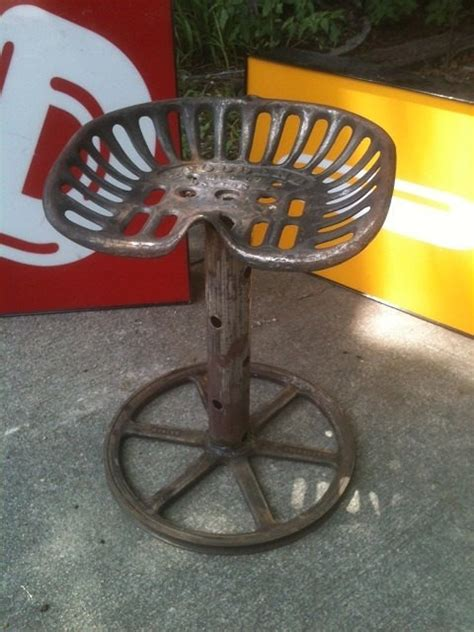 Diy Tractor Seat Stool by Granddad Made Tractor Seat Stools For His Shop When He