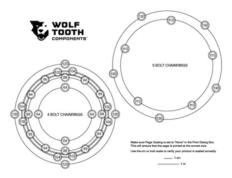 pqe pattern quantify exception how to measure bolt circle diameter bcd wolf tooth