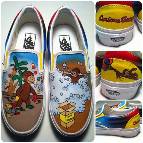 curious george slippers curious george shoes by hcram5 on deviantart