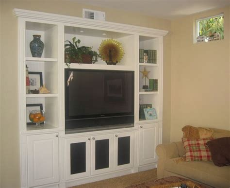 custom built in tv entertainment put drawers tv
