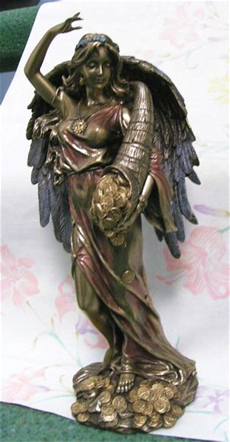 goddess fortuna lady luck roman goddess fortuna statue great poker trophy