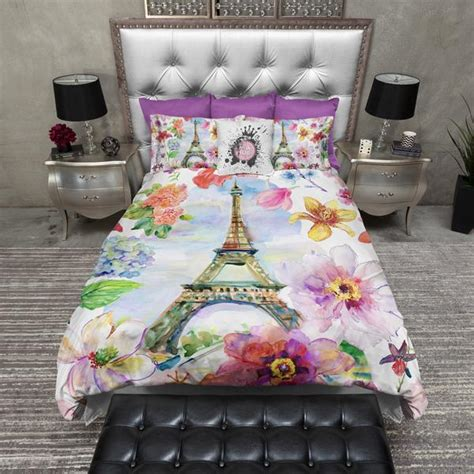 eiffel tower comforter set in eiffel tower duvet bedding sets ink and rags