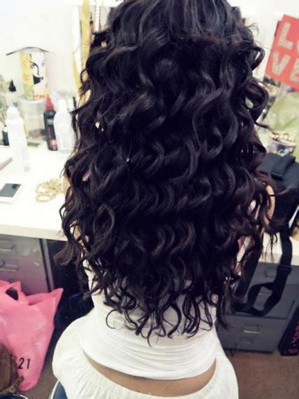 black hairstyles back up and curls in the top beautiful black curly hair hair long hair image
