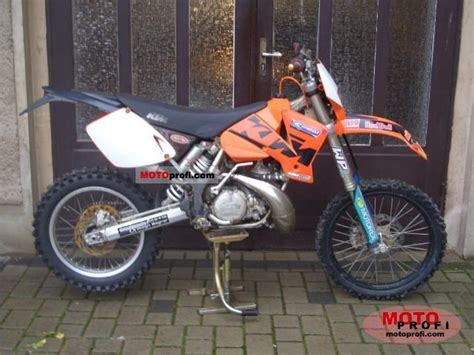 2003 Ktm 300 Exc Ktm 300 Exc 2003 Specs And Photos