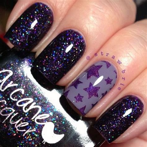 pedicure colors to the stars 50 cool star nail art designs with lots of tutorials and