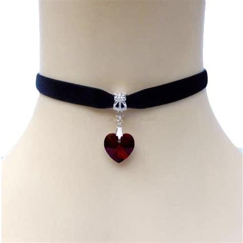 Pendant Choker s pendant velvet choker necklace