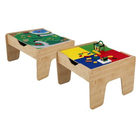 Kidkraft Lego Table by Kidkraft 2 In 1 Lego 174 Compatible Activity
