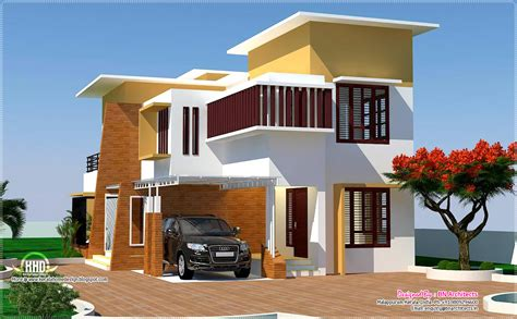 modern house plan kerala 4 bedroom modern villa design kerala home design and floor plans