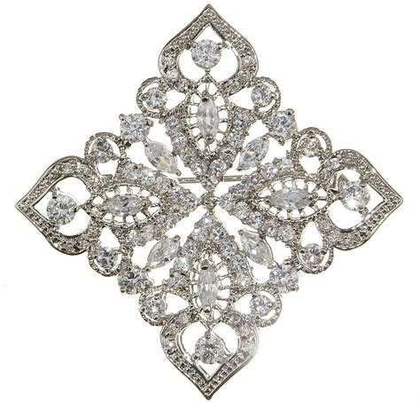Vintage Wedding Hair Brooches by Bridal Brooch Quot The Taj Brooch Quot Forever Bridal Jewellery