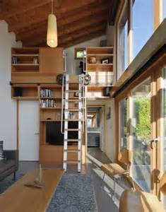 garden pavilion modern small house with loft got spare wall floor ceiling storage works for more than just