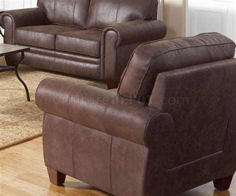 bentley sofa in brown microfiber 504201 by coaster w options